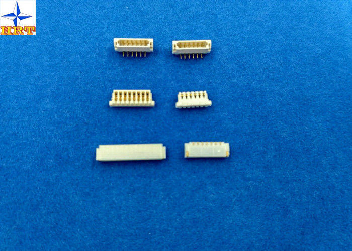 0.8mm pitch SUR cell phone using vertical wafer connecotor with phosphor bronze pin for JST brands