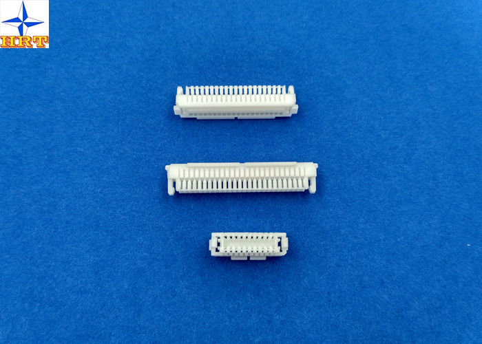 1.0mm Pitch Wire to Board Crimp style Connectors SHLD connector With secure locking device