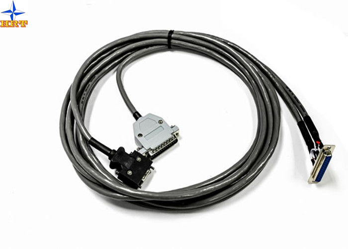 9 Pin Female D-Sub Cable Assemblies For Computer / Communication VGA Cable